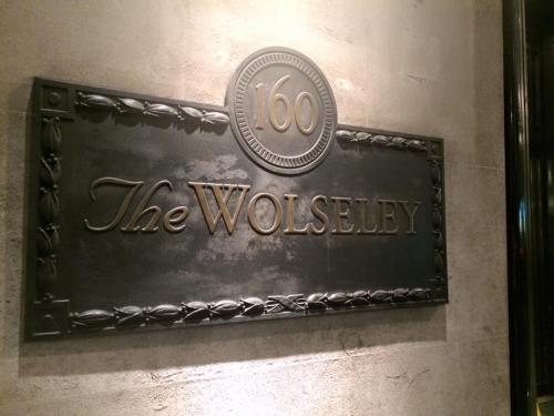 the wolseley, high tea